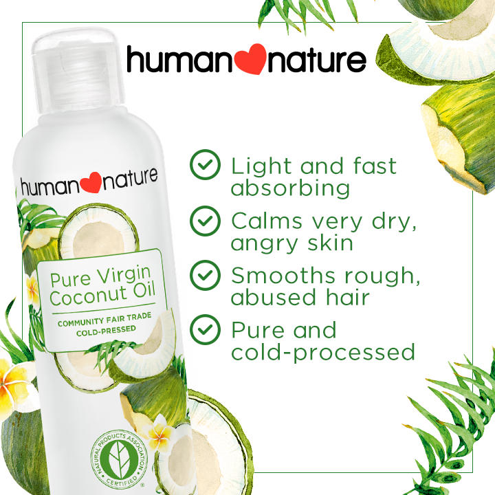 NEW! Pure Virgin Coconut Oil 200ml